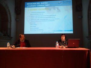«La Medicina del Sueño» Aula de la Salud de la Doctora Laura Lillo