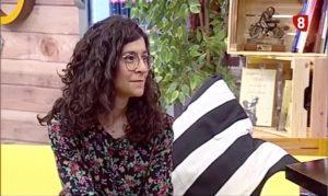 Dr. Tania García en Valladolid en el programa 8 Magazine