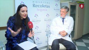 Entrevista Doctor Luis Reparaz en programa La 8 Segovia
