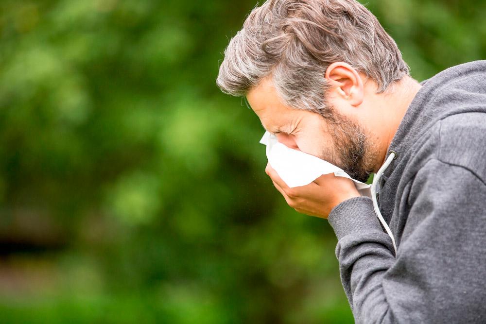 Sintomas y tratamiento alergia estacional primavera