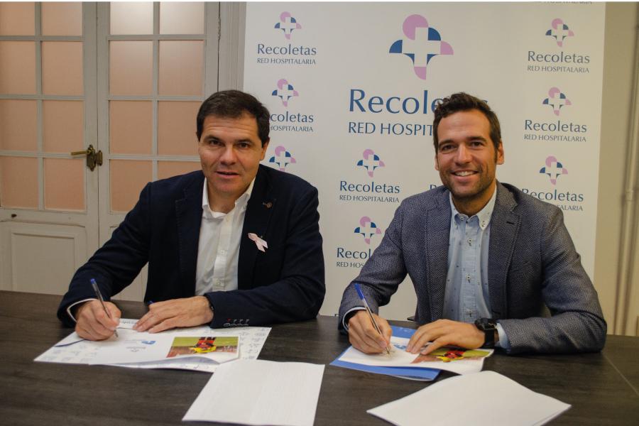Recoletas renueva por tercera temporada el apoyo al programa «Deporte para todos» de la Fundación Eusebio Sacristán