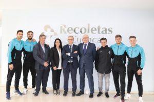 El Hospital Recoletas Cuenca, patrocinador de la Unión Balonpédica Conquense