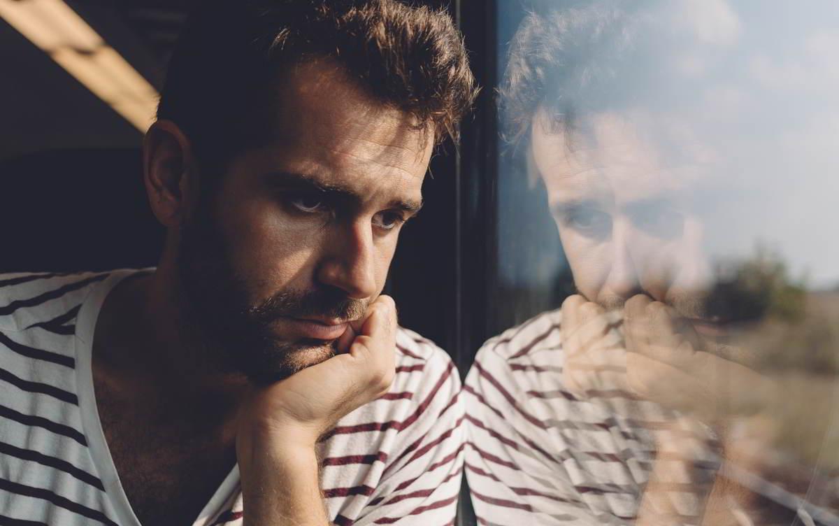 Imagen de una persona con problemas de salud mental