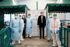 Recoletas continuará colaborando en el cribado masivo para empresas con su personal del hospital