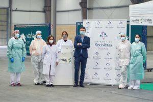 Personal del Hospital Recoletas Segovia lleva a cabo los cribados masivos para empresas