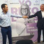 Renovación de patrocinio entre Grupo Recoletas y el Recoletas Atlético de Valladolid. Grupo Recoletas