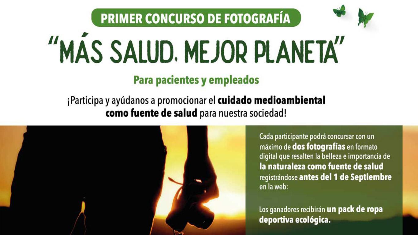 Concurso fotográfico Salud y Medio Ambiente. Grupo Recoletas
